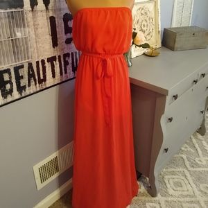 🌞 Poetry clothing coral Maxi dress